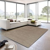 Livorno 005 Plain Grey Rug By Unique Rugs