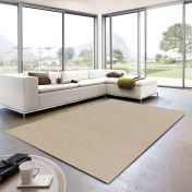 Livorno 160 000 Cream Heather Plain Rug By Unique Rugs