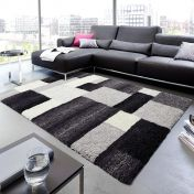 Livorno 151 040 Black-Grey Rug By Unique Rugs