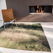 Mad Men Cracks 8723 Dark Pine Rug by Louis De Poortere