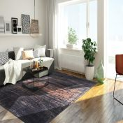 Mad Men Griff 8925 Soho Copper Rug by Louis De Poortere