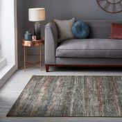 Manhattan Lenox chenille Multi Rug by Flair Rugs