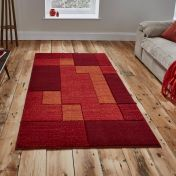 Matrix A0221 Red Rug By Think Rugs
