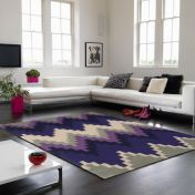 Matrix Cuzzo MAX22 Cuzzo Purple Wool Rug by Asiatic