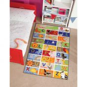 Matrix Kiddy ABC Graphics Mat by Flair Rugs