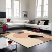 Matrix MAX55 Arc Pastel Wool Rug By Asiatic
