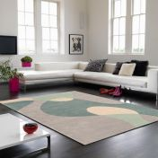 Matrix MAX56 Arc Sky Wool Rug By Asiatic