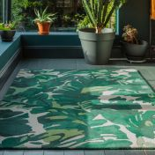 Matrix MAX73 Palm Green Wool Rug by Asiatic