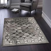 Mazrahi Grey Traditional Rug by Origins