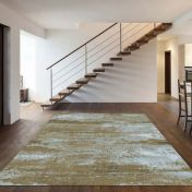 Strata 015 0003 7242 Brown Abstract Rug by Mastercraft