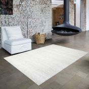 Skald 49001/6252 Cream Plain Rug by Mastercraft