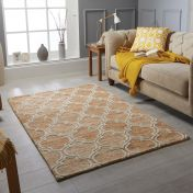 Medina Terra Wool Rug by Oriental Weavers