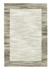 Mehari 023 0042 6878 Beige Bordered Rug by Mastercraft