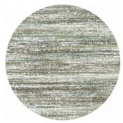 Mehari 023 0094 6959 Blue Beige Mix Abstract Circle Rug by Mastercraft