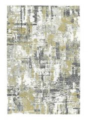 Mehari 023 0284 6686 Gold Abstract Rug by Mastercraft