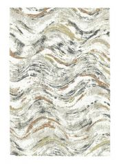 Mehari 023 0288 6616 Beige Abstract Rug by Mastercraft