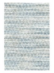 Mehari 023 0311 6696 Blue Geometric Rug by Mastercraft