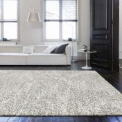 Mehari 023 0500 6258 Silver Plain Rug by Mastercraft