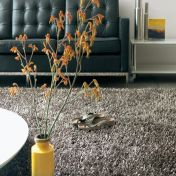 Metallica Gunmetal Polyester Rug by Asiatic