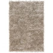 Metallica Silver Polyester Rug by Asiatic