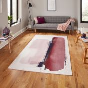 Michelle Collins AB0151 Rose Crimson Rug By Think Rugs