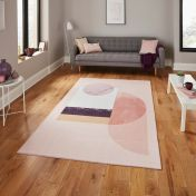 Michelle Collins AB0157 Rose Rug By Think Rugs
