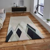 Think Rugs Michelle Collins MC21 Abstract Rug