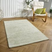 Milano Green Wool Rug by Oriental Weavers