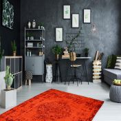 Milano MIL 572 Red Traditional Rug