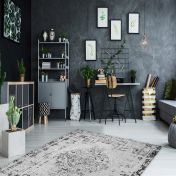 Milano MIL 572 Silver Traditional Rug