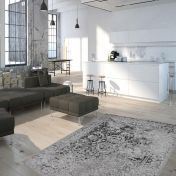 Milano MIL 573 Silver Traditional Rug