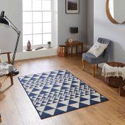 Moda Flatweave Prism Blue Rug by Oriental Weavers