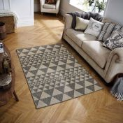 Moda Flatweave Prism Grey Rug by Oriental Weavers