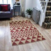 Moda Flatweave Prism Red Rug by Oriental Weavers
