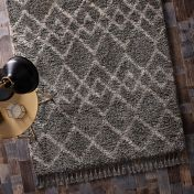 Morocco Taupe Beige Geometric Rug by Origins