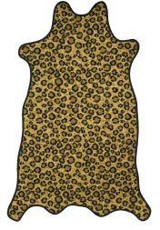 New Washable Rug Soft Leopard Animal Print Area Rugs Carpet Mats