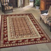 Noble Art 65106 390 Pazyryk Red Traditional Rug By Mastercraft