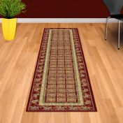 Noble Art 65106 390 Pazyryk Red Traditional Runner By Mastercraft