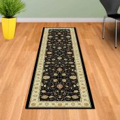 Noble Art 6529 090 Black Traditional Runner By Mastercraft