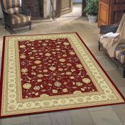 Noble Art 6529 391 Red Beige Traditional Rug By Mastercraft