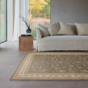 Noble Art 6529 491 Green  Beige Traditional Rug By Mastercraft