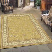 Noble Art 6529 790 Gold Traditional Rug By Mastercraft