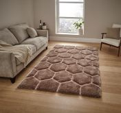 Noble House NH30782 Beige Rug by Think Rugs