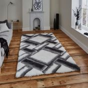 Noble House NH9716 Grey/Ivory Rug by Think Rugs