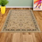 Noble Art 65124 192 Beige Traditional Rug by Mastercraft