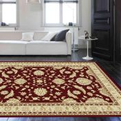 Noble Art 65124 390 Red Traditional Rug by Mastercraft