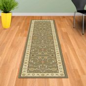 Noble Art 6529 491 Green Beige Traditional Runner By Mastercraft