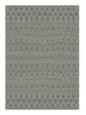Nomad 026 - 0049 7262 Brown Geometric Modern Rug by Mastercraft