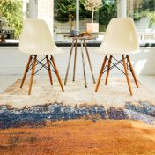 Nova NV04 Distress Orange Rug by Asiatic