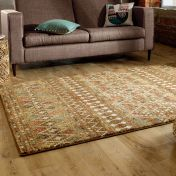 Nova Odine Brown Traditional Rug by Flair Rugs